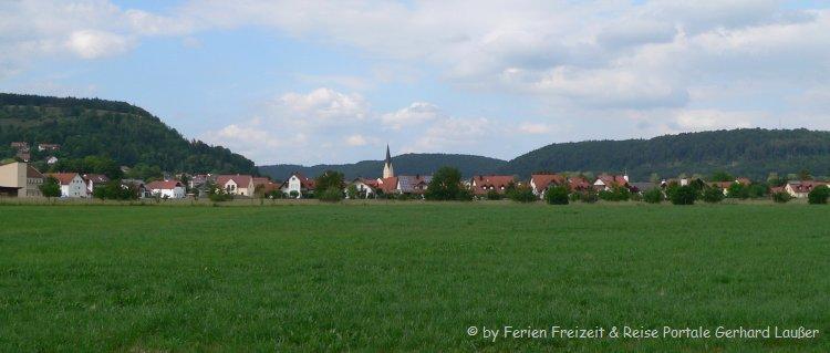 Ausflugsziele Dietfurt Sehenswerte Landschaft Stadtansicht
