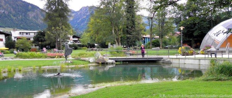 Sehenswürdigkeiten in Oberstdorf Kunst im Kurpark