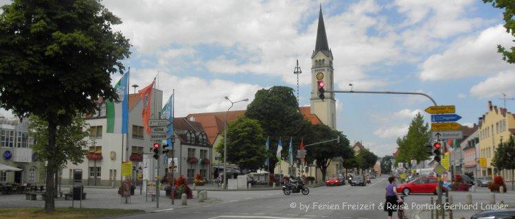 Sehenswürdigkeiten in Plattling in Niederbayern Tipps für Ausflugsziele in der Umgebung der Stadt