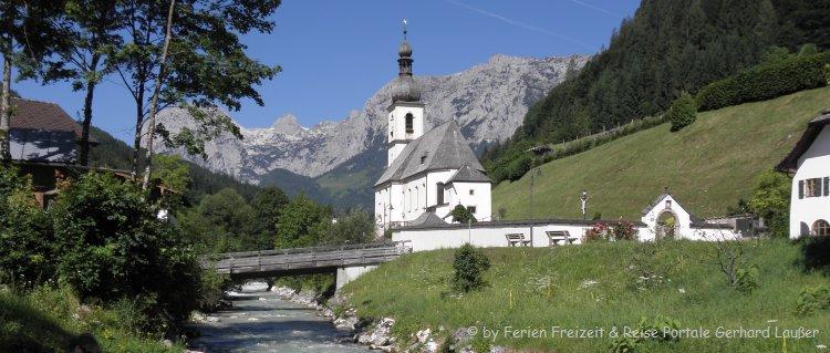 Ausflugsziele Allgäu Ramsau Sehenswürdigkeiten Bergkirche