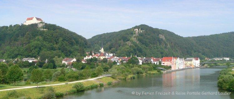 Stadt Ansicht - Sehenswürdigkeiten in Riedenburg im Altmühltal