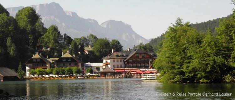 Bayern Ausflugsziele Schönau am Königssee Sehenswürdigkeiten
