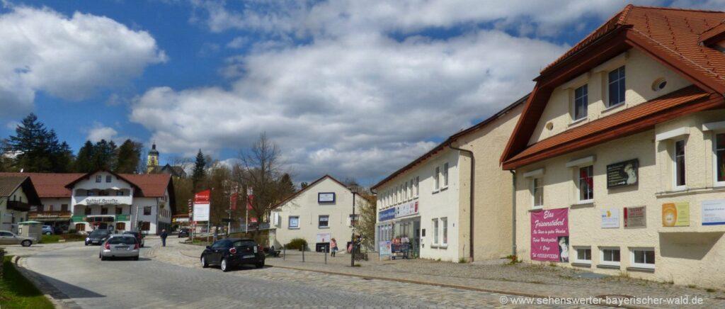 Sehenswürdigkeiten in Spiegelau Ausflugsziele Bayerischer Wald