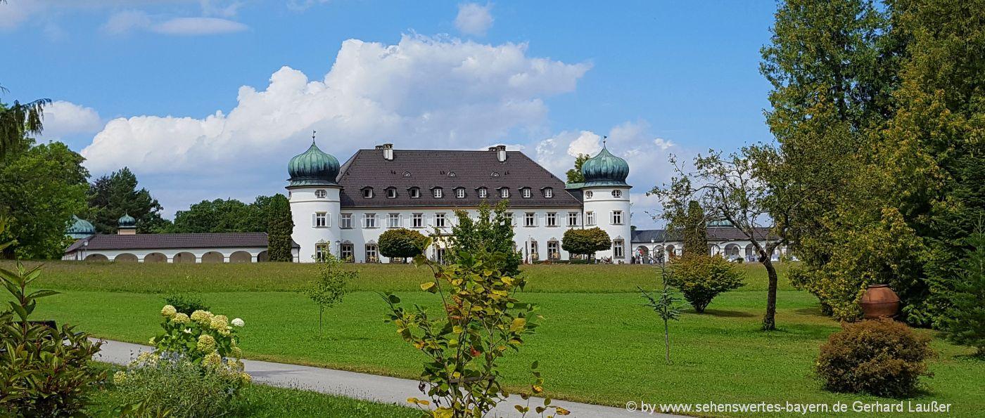 Ausflüge bei Bernried am Starnberger See Sehenswürdigkeiten Schloss
