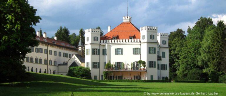 Ausflugsziele & Sehenswürdigkeiten Pöcking Schloß am Starnberger See