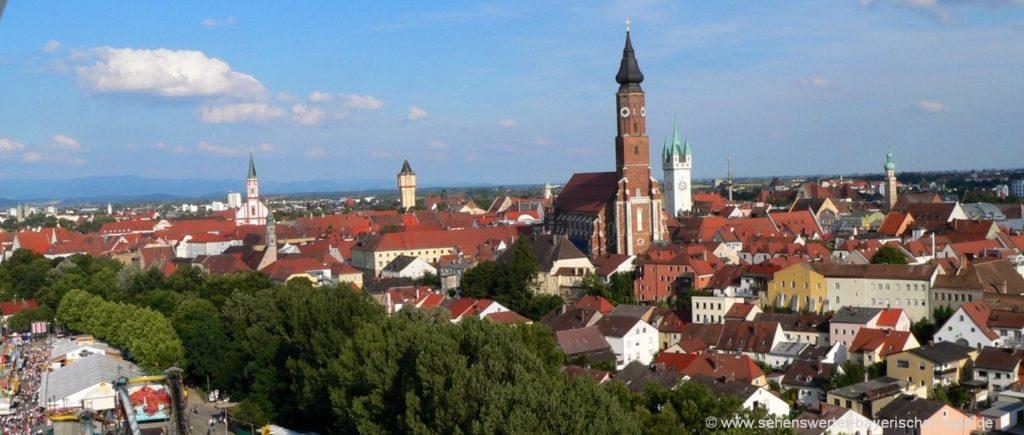 Sehenswürdigkeiten in Straubing Ausflugsziele in Niederbayern