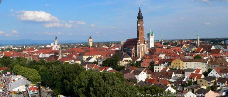 Sehenswürdigkeiten in Straubing Stadtansicht