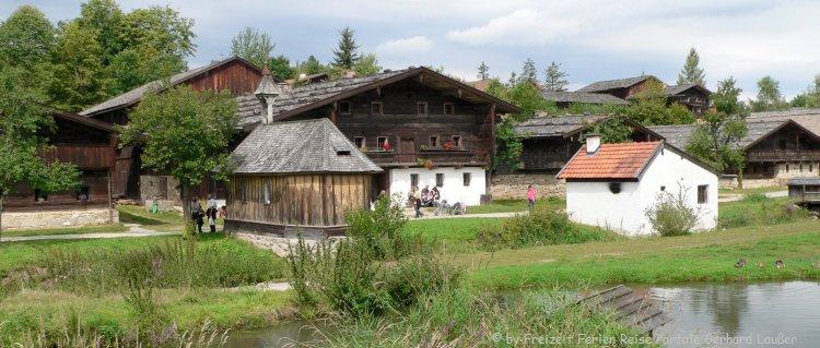 Museumsdorf Tittling Freilichtmuseum Bayerischer Wald