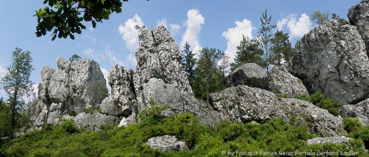 Geotop Großer Pfahl Wanderweg bei Viechtach
