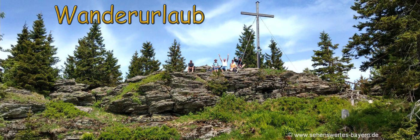 wanderurlaub-niederbayern-wanderungen-oberpfalz-berg-gipfelkreuz