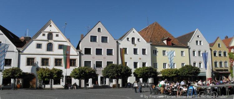 Sehenswürdigkeiten in Weiden / Oberpfalz Altstadt