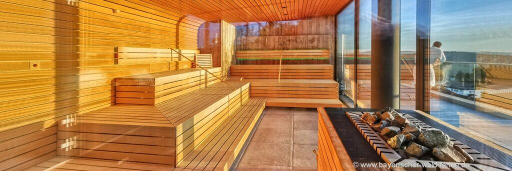 Bayerischer Wald Hotels - Wellness Pauschalangebote mit Sauna buchen